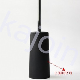 kajoin 1280X720 Toilet Brush bathroom Spy Camera DVR 720P 8GB
